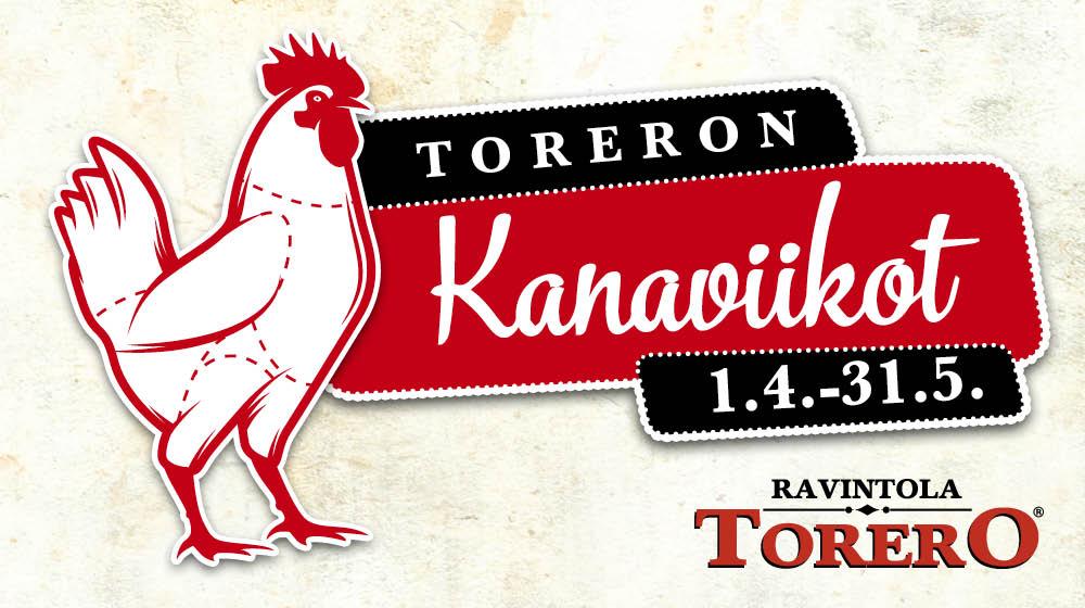 Toreron kanaviikot 1.4.-31.5.2015
