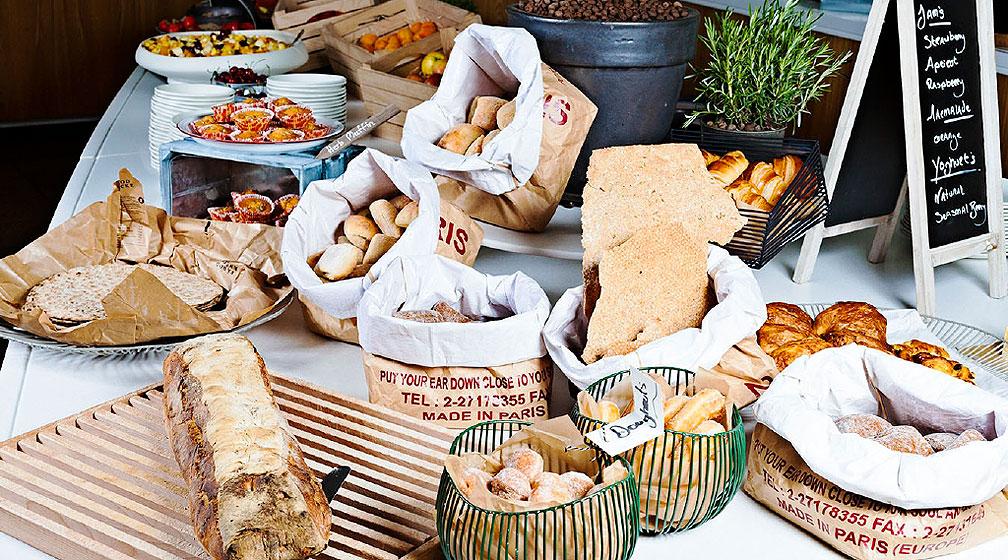 Tule nauttimaan uudistunut Super Breakfast ravintola Rantaan