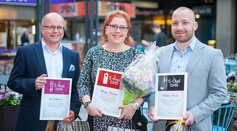 vuoden 2015 S-Boss ravintolapäällikkö löytyy Vantaan Coffee Housesta