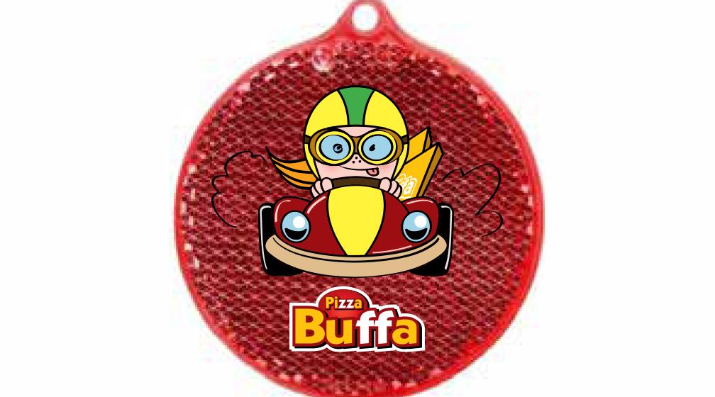 PizzaBuffa-ravintolat jakavat 17 000 heijastinta