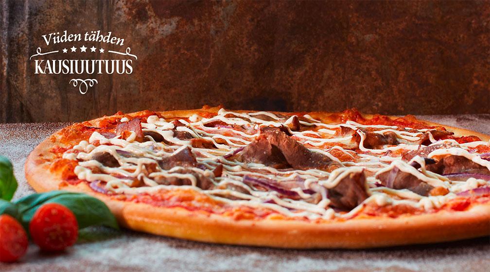 PizzaBuffan uusi kausimaku on pikantti pizzauutuus