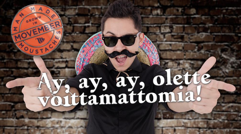 Kiitos teille Movember-lahjoittajamme!
