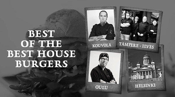 Syksy on omistettu talon burgereille