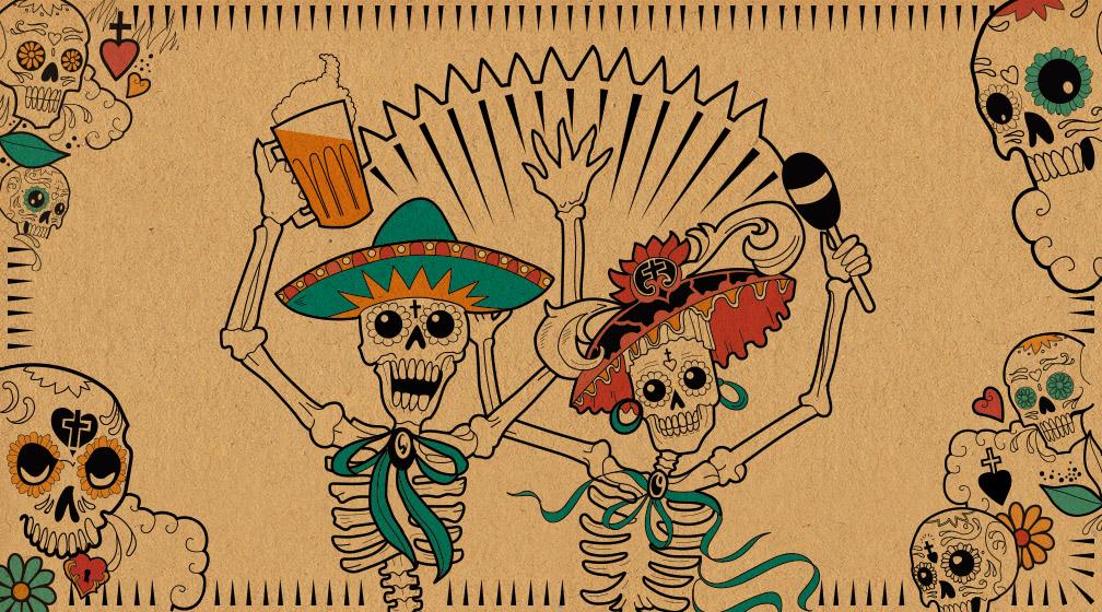 Dia de los Muertos on täällä!