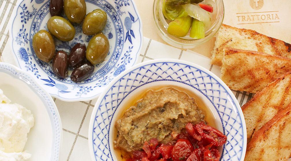 Uudella ruokalistallamme maistuu rakkaus italialaiseen ruokaan