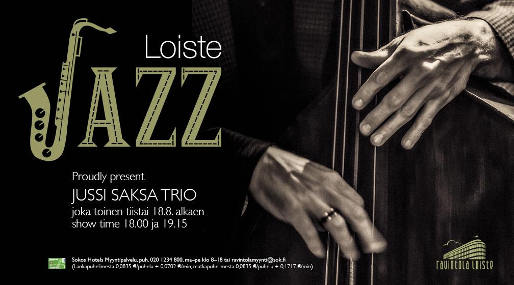 Loisteen Live Jazz käynnistyy taas iltojen pimetessä Helsingissä