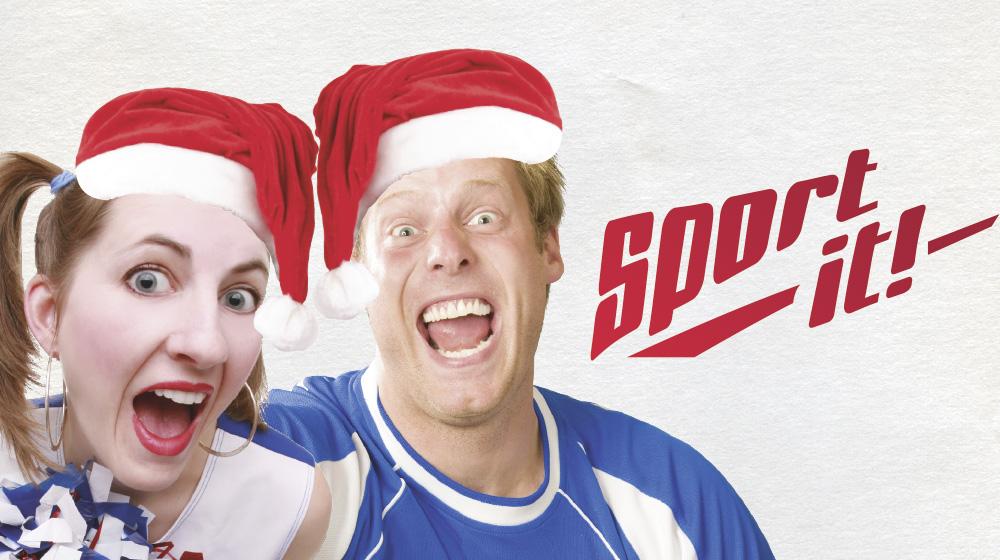 Sport it! Kellarin joulubuffa