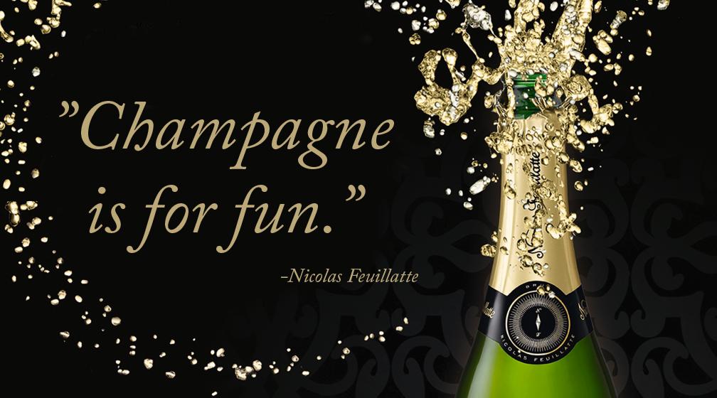 Nicolas Feuillatte shampanja 75 cl   S-Etukortilla 39 € Eekoon ravintoloista