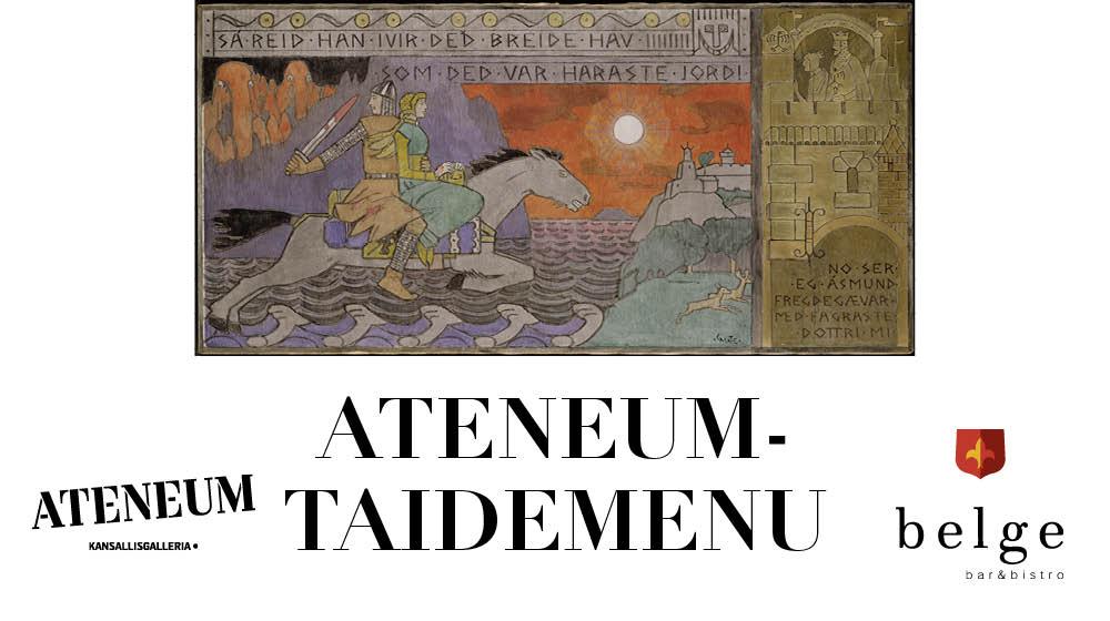 Belge Ateneum taidemenu