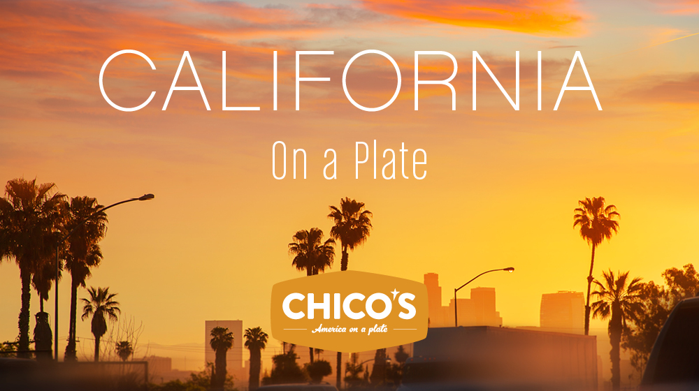 California On a Plate