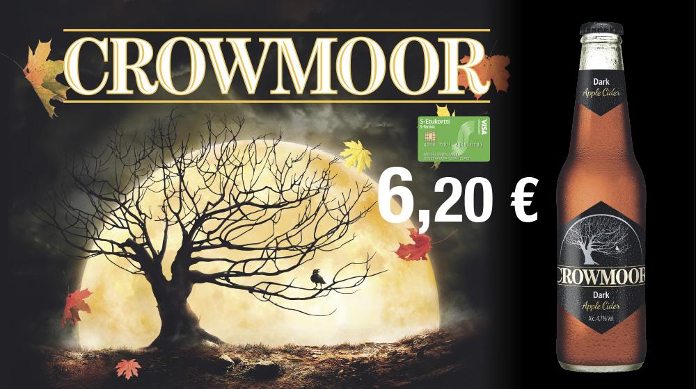 Siiderien kuningas Crowmoor 6,20 €