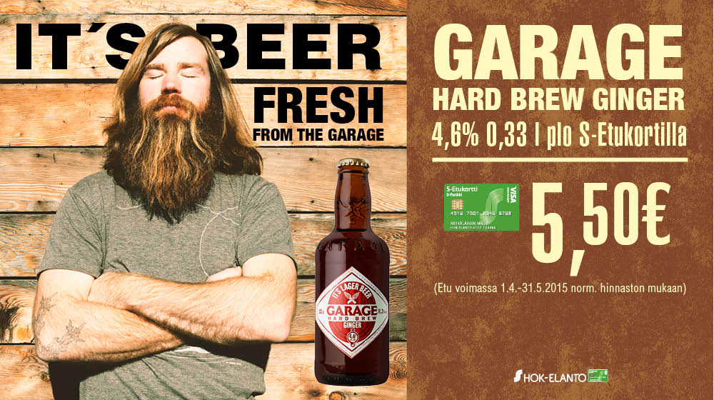 GARAGE HARD BREW GINGER