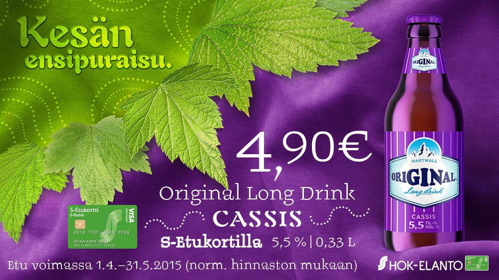 ORIGINAL LONG DRINK CASSIS