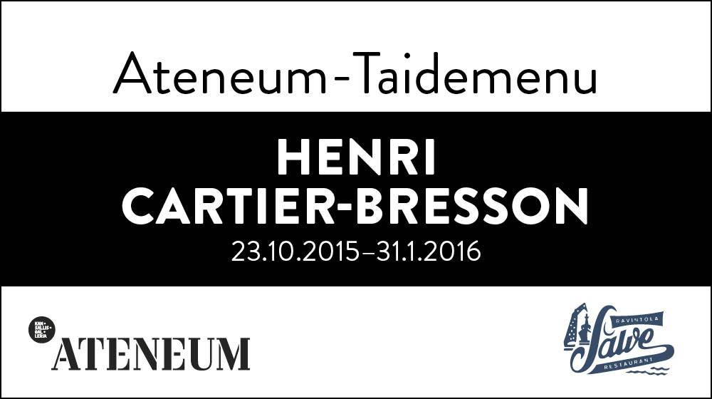 Salven Ateneum-Taidemenu HENRI CARTIER-BRESSON