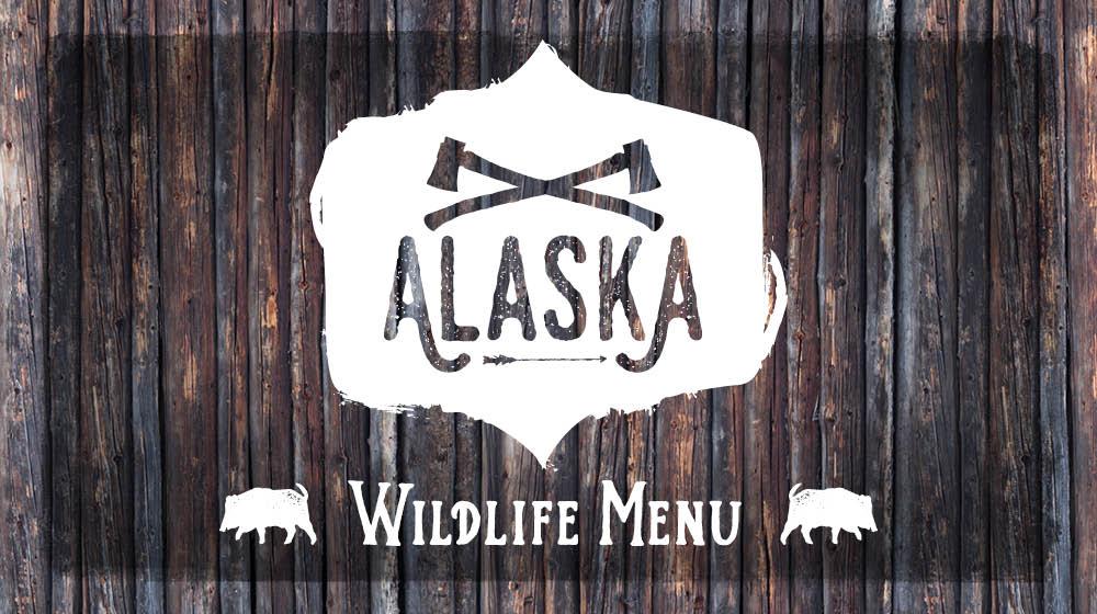 Alaska Wildlife Menu