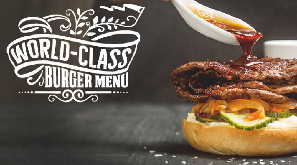 World-Class Burger Menu 17.10.–27.11.