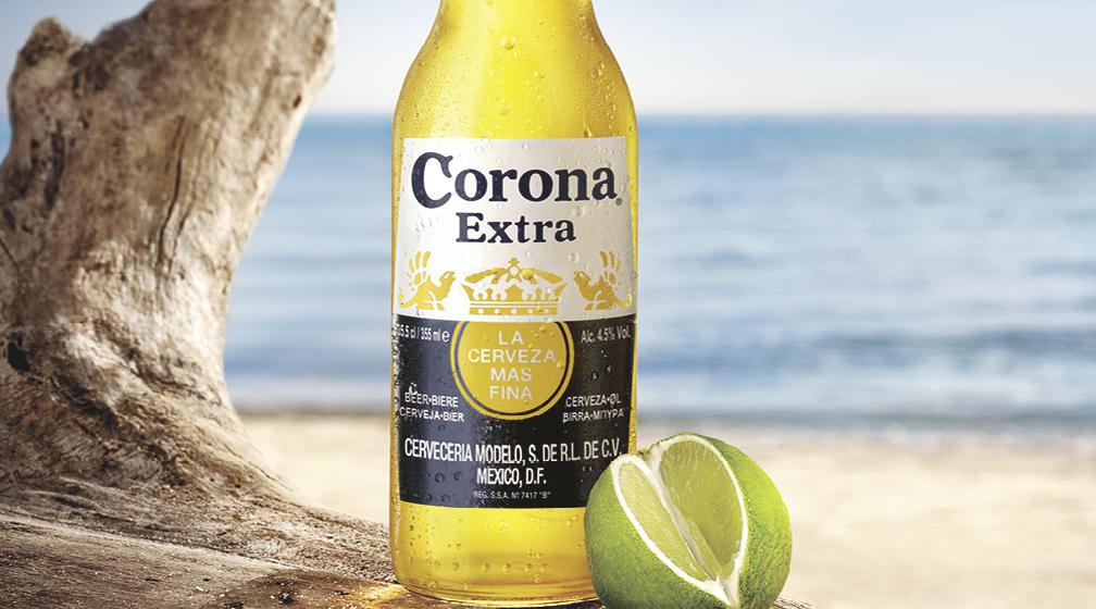 Corona Extra vain 6,50 €!
