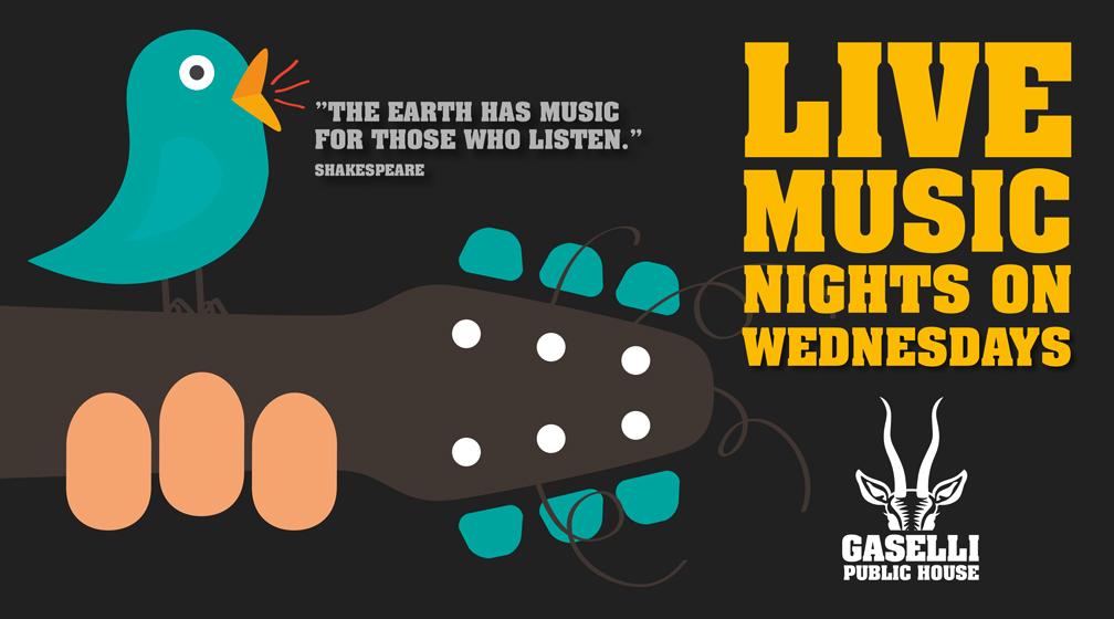 Live Music @ Pub Gaselli on Wednesdays!
