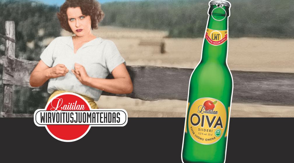 Mokoma kulkumies, meillä juodaan Oivaa!