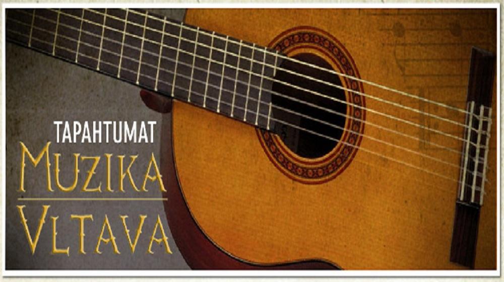 Tule fiilistelemään livemusiikilla Muzika Vltavaan!