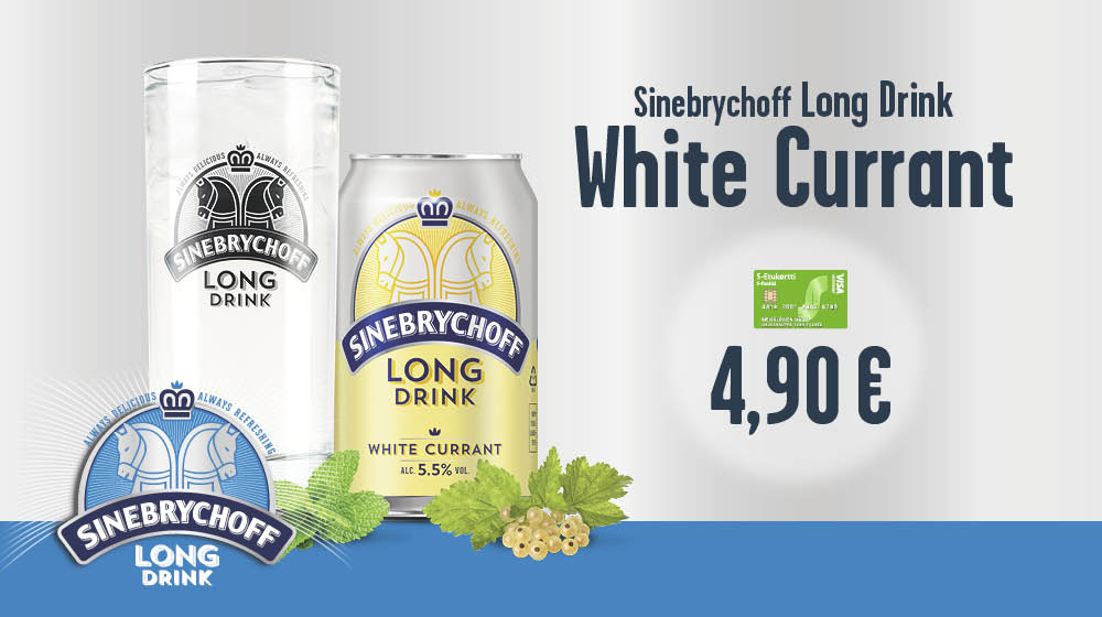Long Drink White Currant 4,90 €