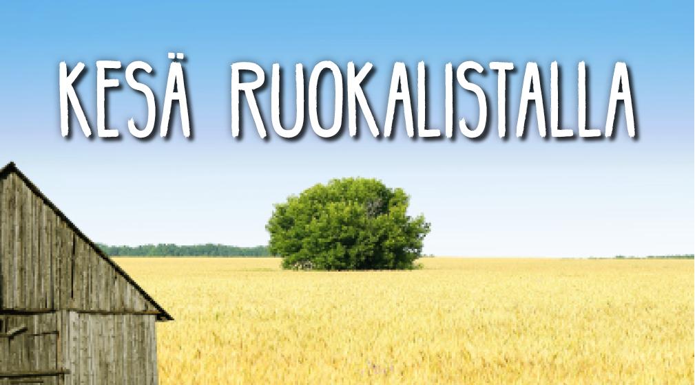 Kesä ruokalistalla: Olohuone- ja Jyvänen-ravintolat