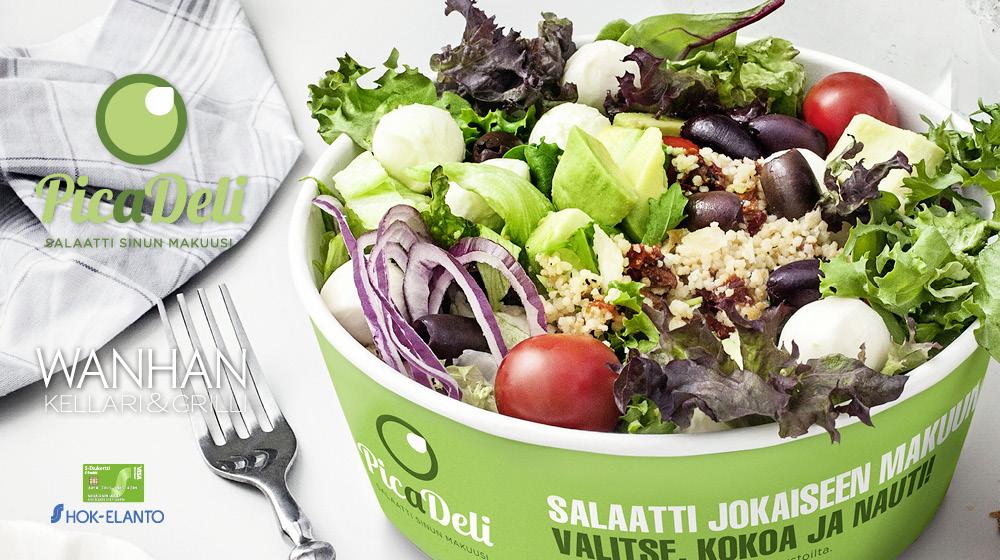Picadeli – salaatti sinun makuusi!