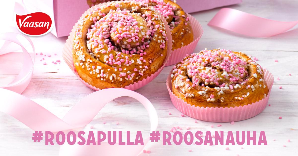Prisma Cafésta Roosa nauha -kanelikierrepulla 2,40€
