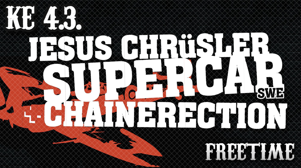 Freetime Live: Jesus Chrüsler Supercar
