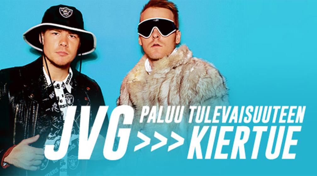 JVG Paluu Tulevaisuuteen kiertue Nightclub Callessa