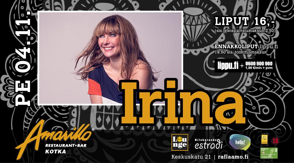 Amarillo Kotka Live! Irina 4.11.2016