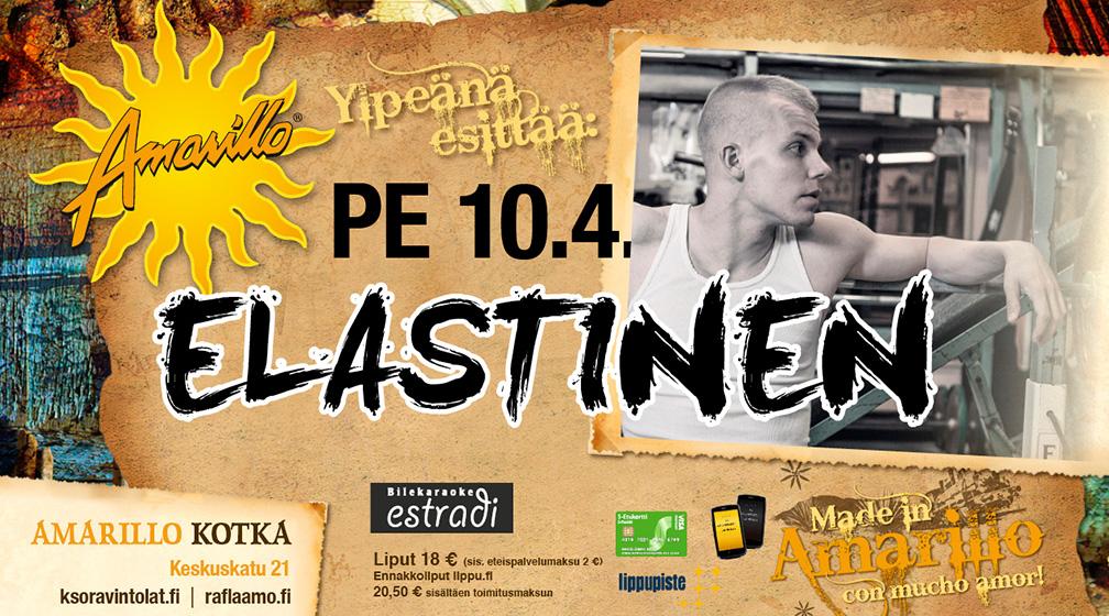 Amarillo Kotka: Elastinen 10.4.