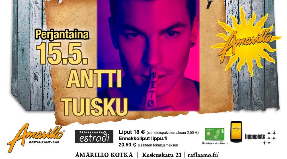 Amarillo Kotka: Antti Tuisku 15.5.