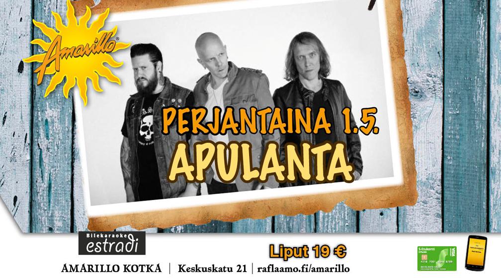Amarillo Kotka: Apulanta 1.5.