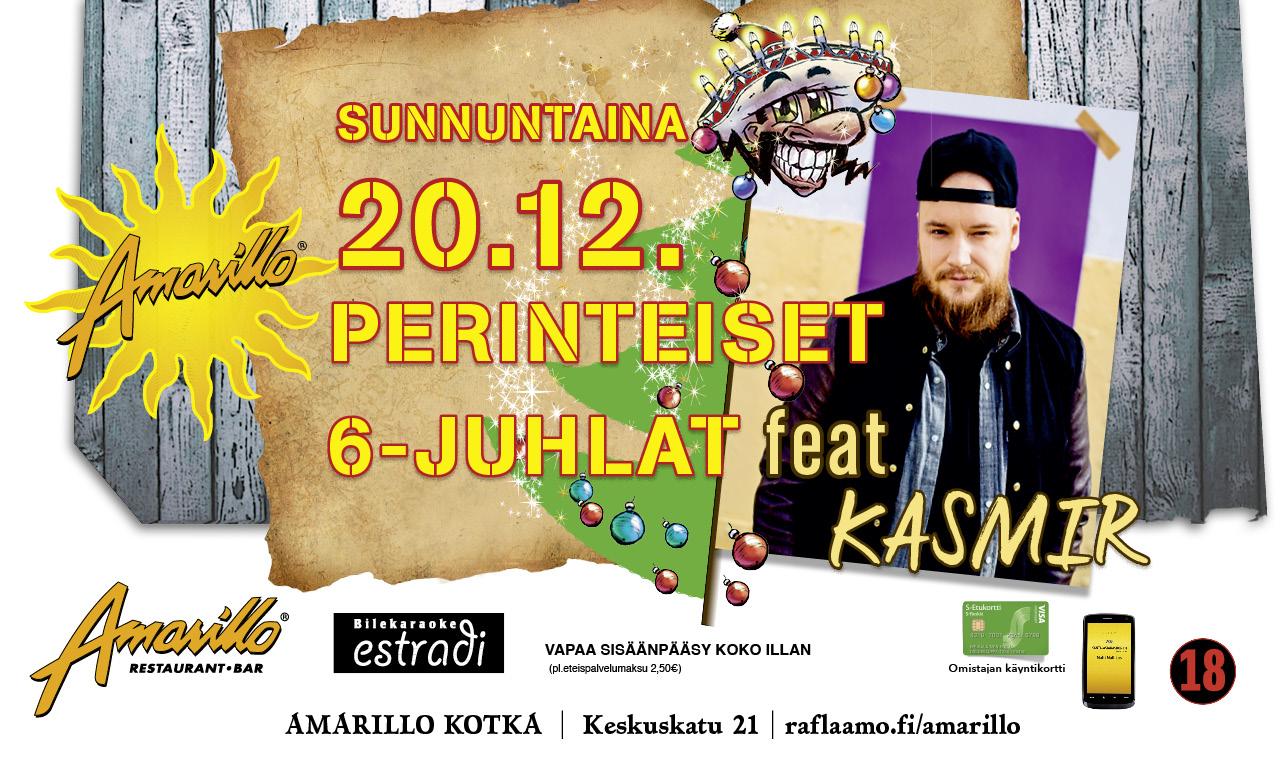 Amarillo Kotka Live! 20.12.2015 6-Juhlat feat. Kasmir