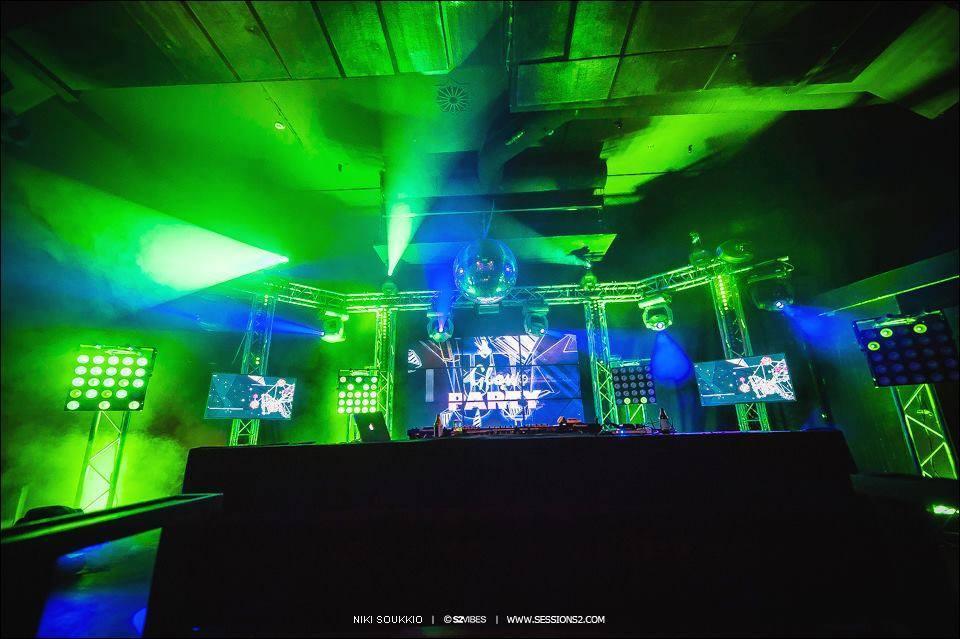 UV Glow Party Pe 30.9. @Puikkari