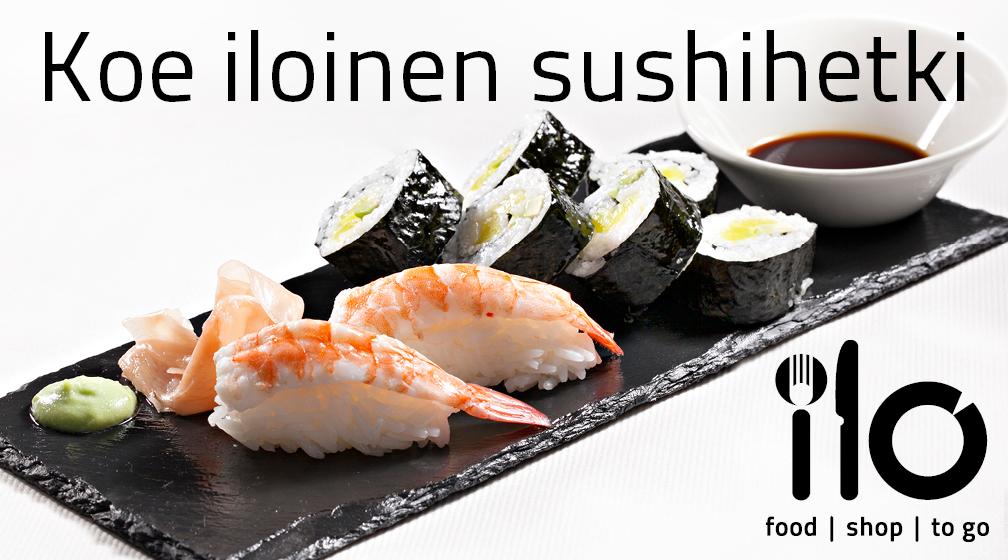 Tervetuloa Ravintola Ilon sushikurssille!