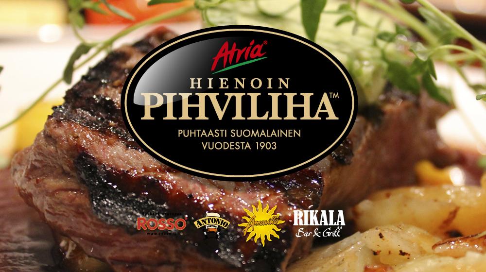 Atria Hienoin Pihviliha tarjolla SSO-Ravintoloissa