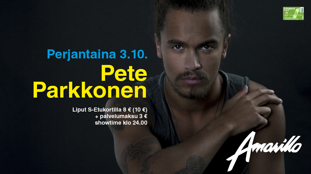 Pete Parkkonen 3.10.2014