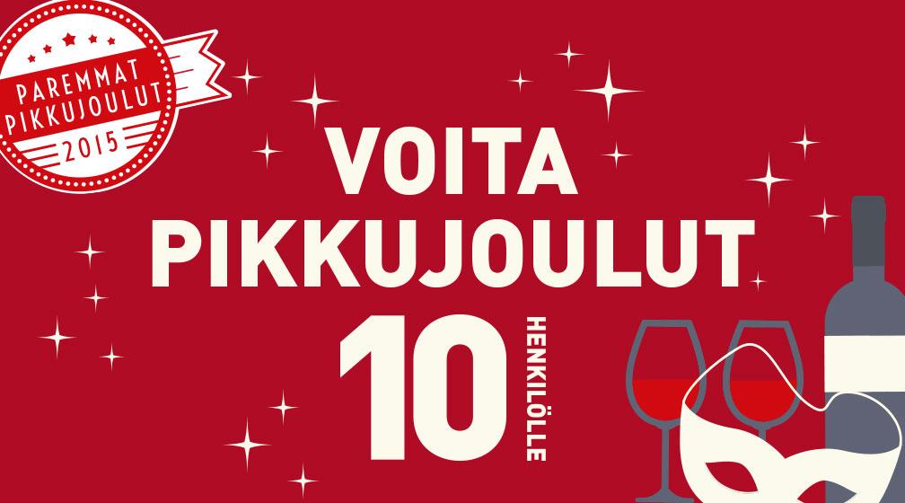 Voita pikkujoulut Turussa 10 henkilölle!