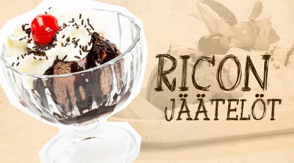 Herkulliset jäätelöt Ricosta!