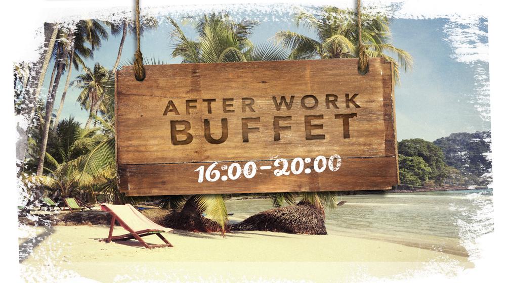 Perjantaisin After Work Buffet Shamrockcafessa!