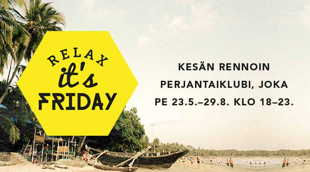 RIF Relax It's Friday -perjantaiklubi
