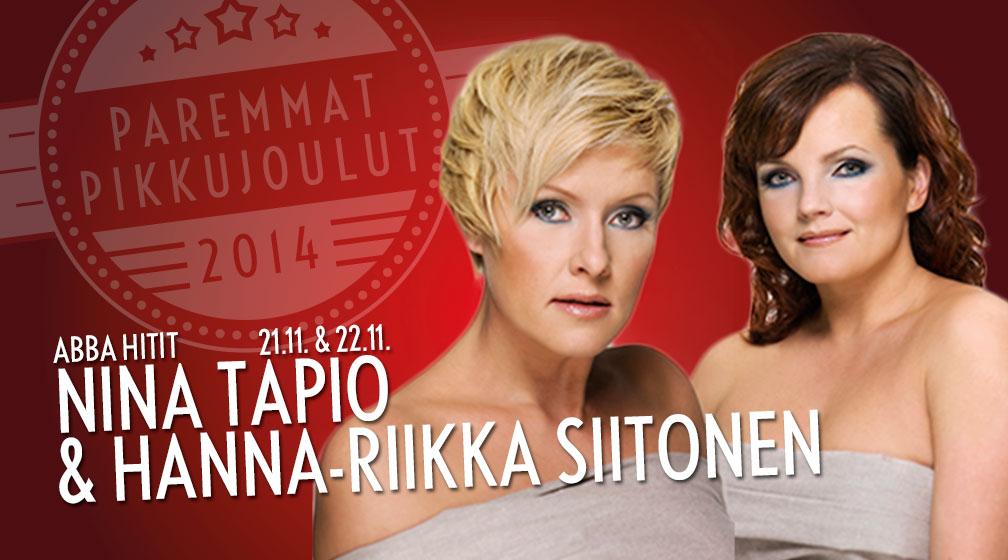 Abba hitit - Nina Tapio & Hanna-Riikka Siitonen 21.11. & 22.11.