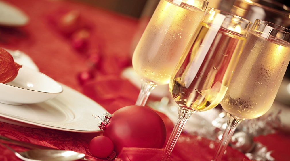 Joulupöytämme jouluaattona 24.12.2014