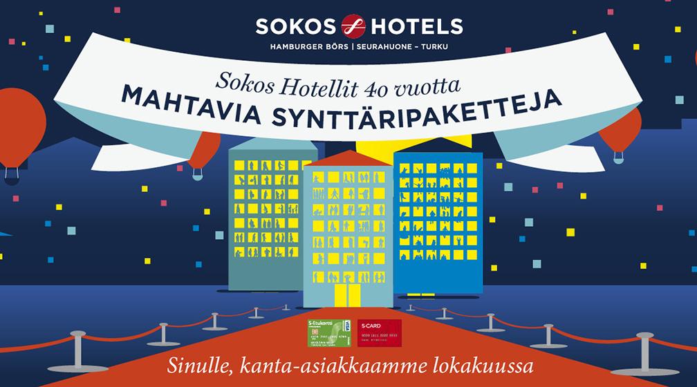 Sokos Hotellit 40 vuotta