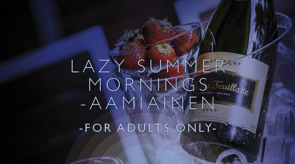 LAZY SUMMER MORNINGS -aamiainen