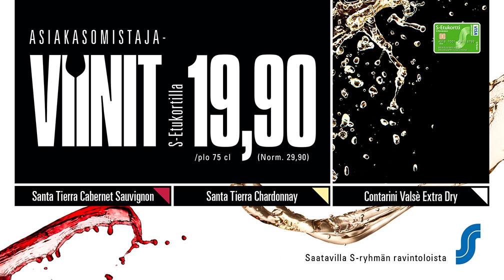 Asiakasomistajille viinit edullisesti!