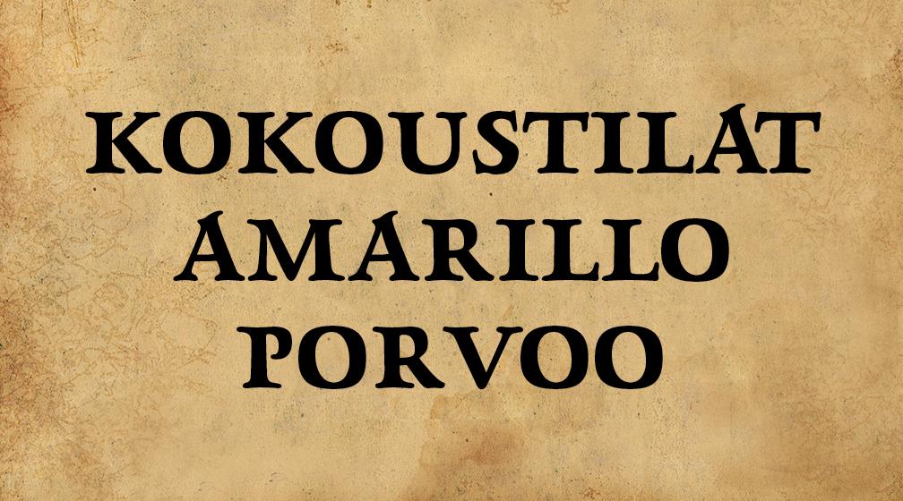 Kokoustilat Amarillo Porvoo