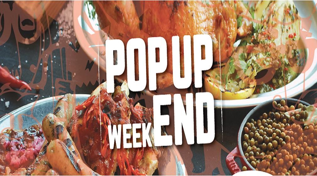 POP UP WEEKEND Grill it! Tapiolassa 18.-20.11.